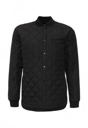 Куртка утепленная Fat Moose Thermo Quilt. Цвет: черный