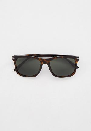 Очки солнцезащитные Prada PR 18WS 2AU0B0. Цвет: коричневый