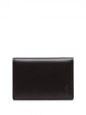 Картхолдер с тисненым логотипом Polo Ralph Lauren. Цвет: коричневый