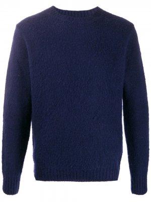 Джемпер с круглым вырезом Aspesi. Цвет: синий