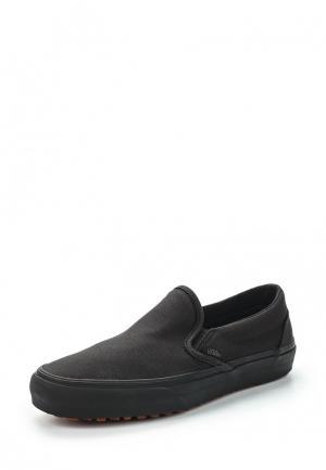 Слипоны Vans CLASSIC SLIP-ON. Цвет: черный