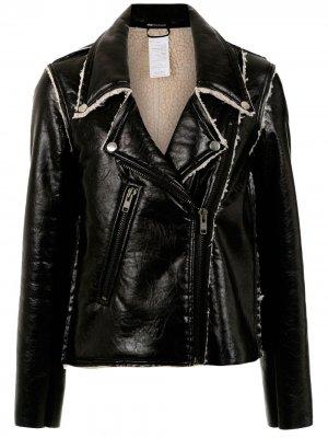 Ribben biker jacket Uma | Raquel Davidowicz. Цвет: черный