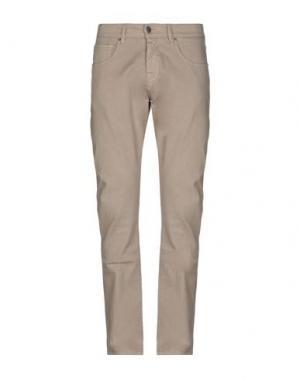 Джинсовые брюки 2 MEN. Цвет: бежевый