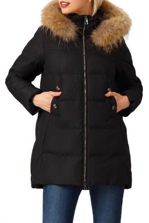 Куртка Finn Flare. Цвет: 200 black
