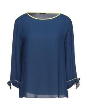 Блузка HANITA. Цвет: синий