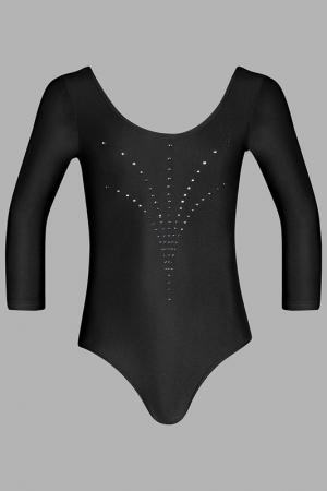 Купальник спортивный Arina Ballerina. Цвет: черный