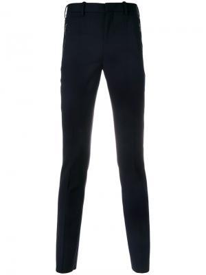 Классические брюки кроя слим Neil Barrett. Цвет: синий