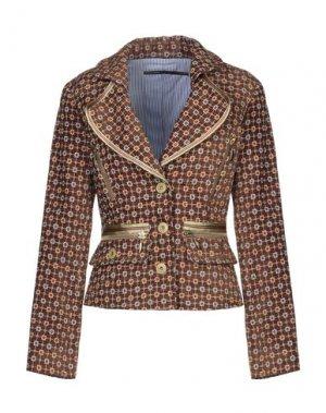 Пиджак GAETANO NAVARRA. Цвет: коричневый