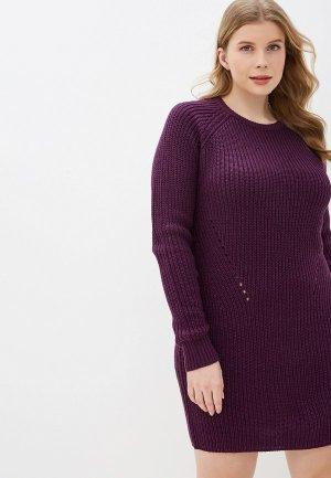 Платье Brave Soul. Цвет: фиолетовый
