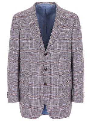 Пиджак из шерсти и кашемира CASTANGIA