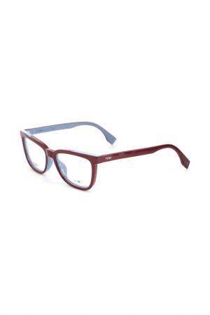 Очки Fendi. Цвет: красный
