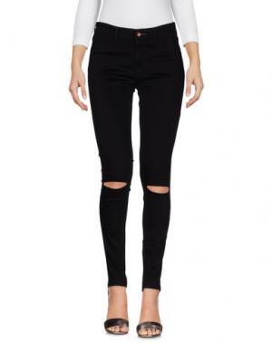 Джинсовые брюки DENHAM. Цвет: черный