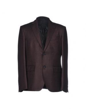 Пиджак HARRY & SONS. Цвет: темно-коричневый