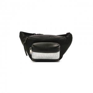 Комбинированная поясная сумка Light 3 Givenchy. Цвет: чёрный