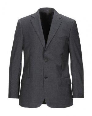 Пиджак VALENTINO. Цвет: стальной серый