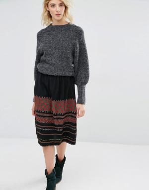 Мини-юбка с вышивкой Irala Gat Rimon. Цвет: мульти