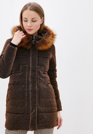 Куртка утепленная Allegri. Цвет: коричневый