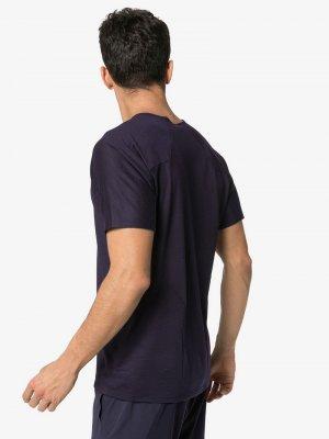 Arcteryx Veilance футболка Cevian из джерси Arc'teryx. Цвет: фиолетовый