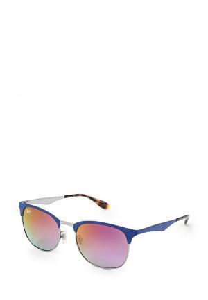 Очки солнцезащитные Ray-Ban® RB3538 9005A9. Цвет: фиолетовый
