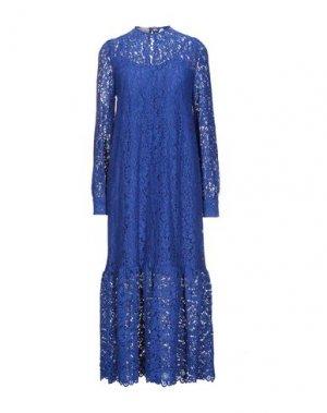 Длинное платье MARIUCCIA. Цвет: синий