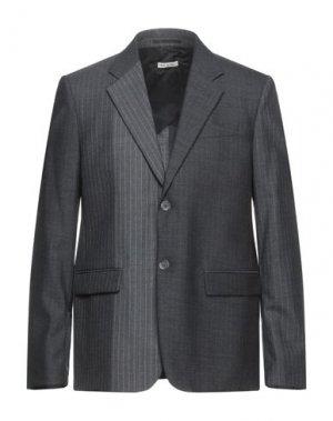 Пиджак MARNI. Цвет: свинцово-серый