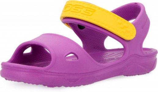 Шлепанцы для девочек G-Sand, размер 26-27 Joss. Цвет: фиолетовый