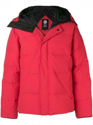 Macmillian parka jacket Canada Goose. Цвет: красный