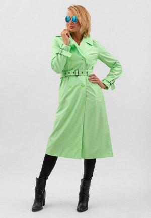 Плащ Doctor E. Цвет: зеленый