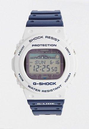 Часы Casio G-SHOCK GWX-5700SS-7ER. Цвет: синий