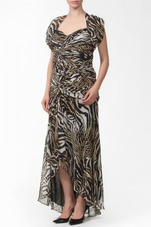 Платье Luisa Spagnoli. Цвет: леопард
