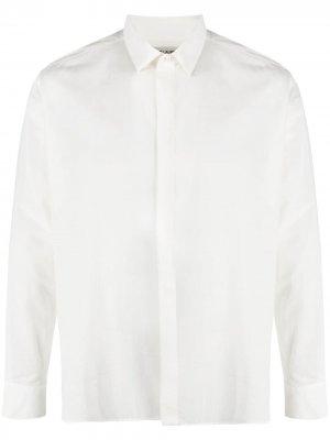Рубашка с длинными рукавами Saint Laurent. Цвет: белый