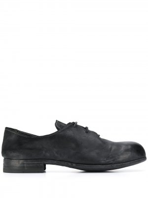 Туфли с эффектом потертости 10Sei0otto. Цвет: черный
