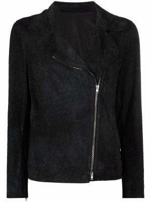 Байкерская куртка Salvatore Santoro. Цвет: черный