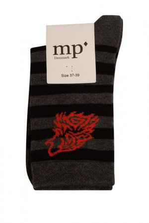 Носки MP SOCKS. Цвет: черный