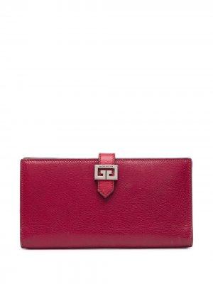 Бумажник с логотипом Givenchy Pre-Owned. Цвет: розовый