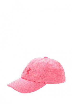 Бейсболка Under Armour Girls Twisted Renegade Cap. Цвет: розовый