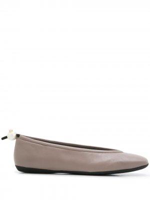 Балетки Delfi Nicholas Kirkwood. Цвет: коричневый