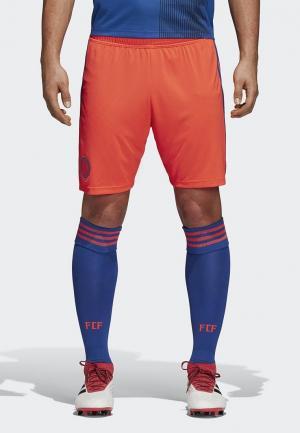 Шорты спортивные adidas FCF A SHO. Цвет: оранжевый