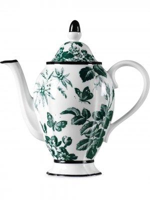 Кофейник Herbarium Gucci. Цвет: белый