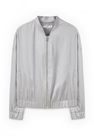 Куртка Mango - FEBRERO. Цвет: серый