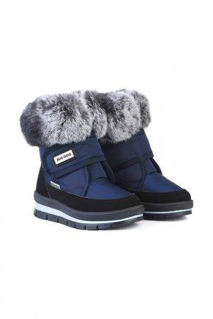 Ботинки Jog Dog. Цвет: синий динамик