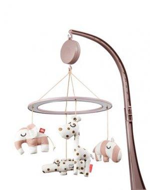 Игрушки для малышей DONE BY DEER. Цвет: светло-розовый
