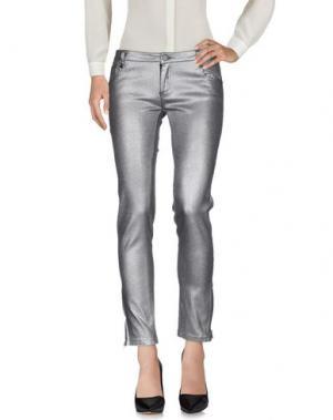 Повседневные брюки ELLA LUNA. Цвет: серый