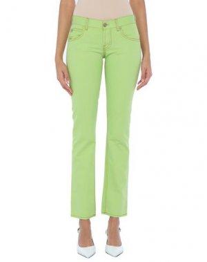 Повседневные брюки MAISON CLOCHARD. Цвет: светло-зеленый