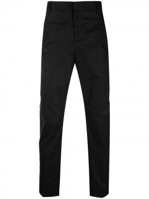 Узкие брюки чинос Daniele Alessandrini. Цвет: черный