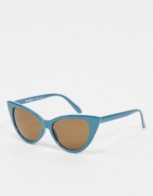 Синие солнцезащитные очки кошачий глаз -Синий AJ Morgan