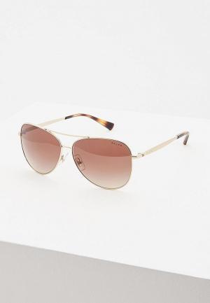 Очки солнцезащитные Ralph Lauren RA4125 911613. Цвет: золотой