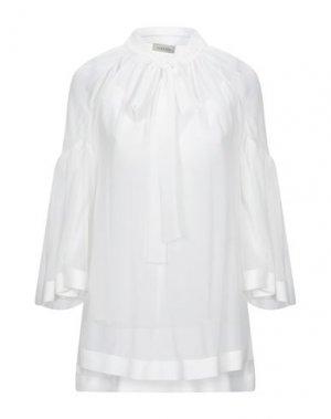 Блузка LAMANIA. Цвет: белый