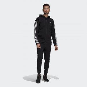 Спортивный костюм Sportswear adidas. Цвет: черный
