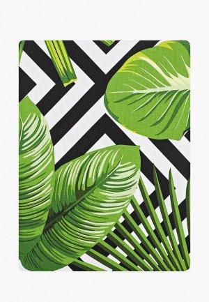 Скатерть Naturel Модерн. Цвет: зеленый